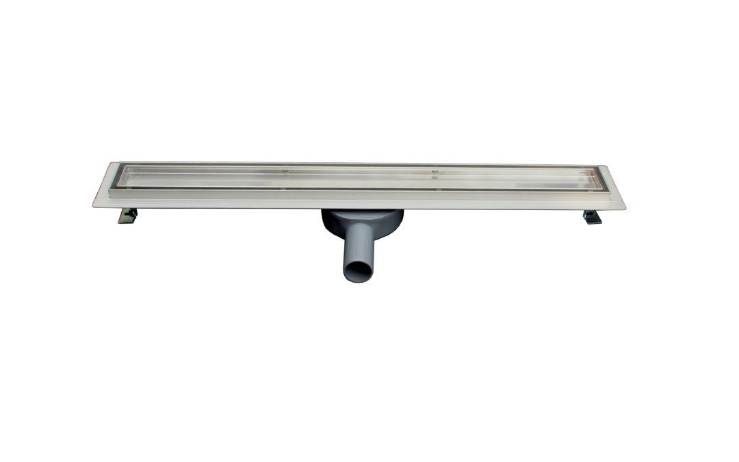 Neues Modell: befliesbare Duschrinne 360°